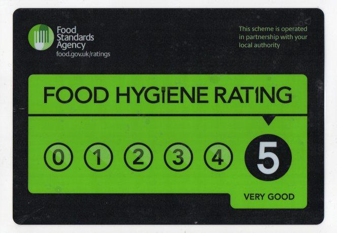 Food Hygiene Rating Chanbury's